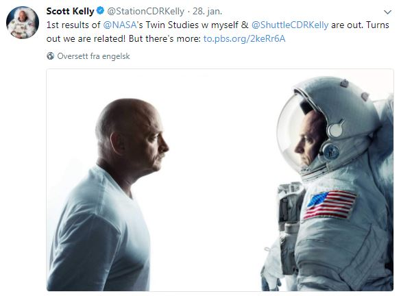 Mark Kelly (t.v.), Scott Kelly