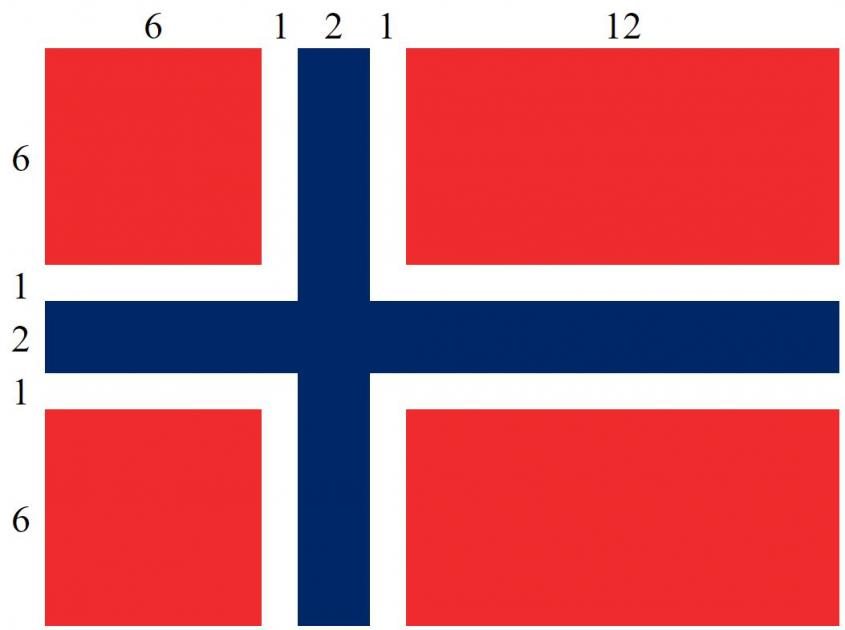 Norges flagg