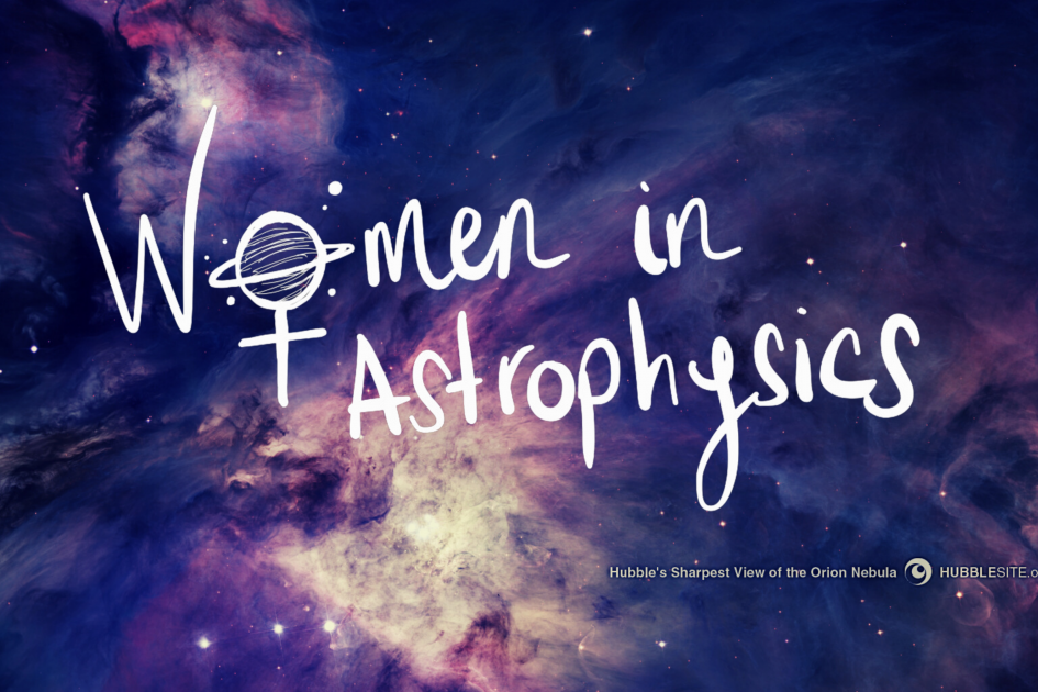 banner with logo Women in Astrophysics